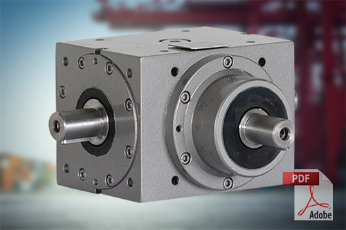 Angular Gearboxes Type Ra